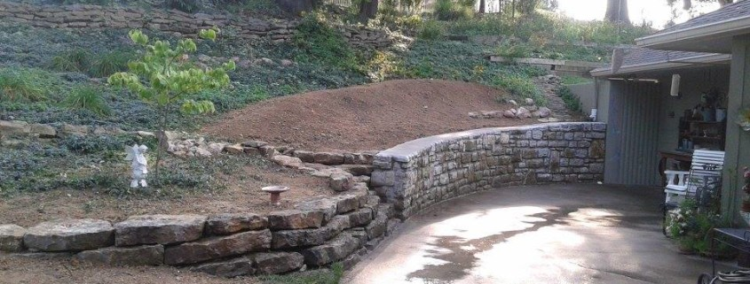 After Retaining Wall Repair Waterproofing And Drainage