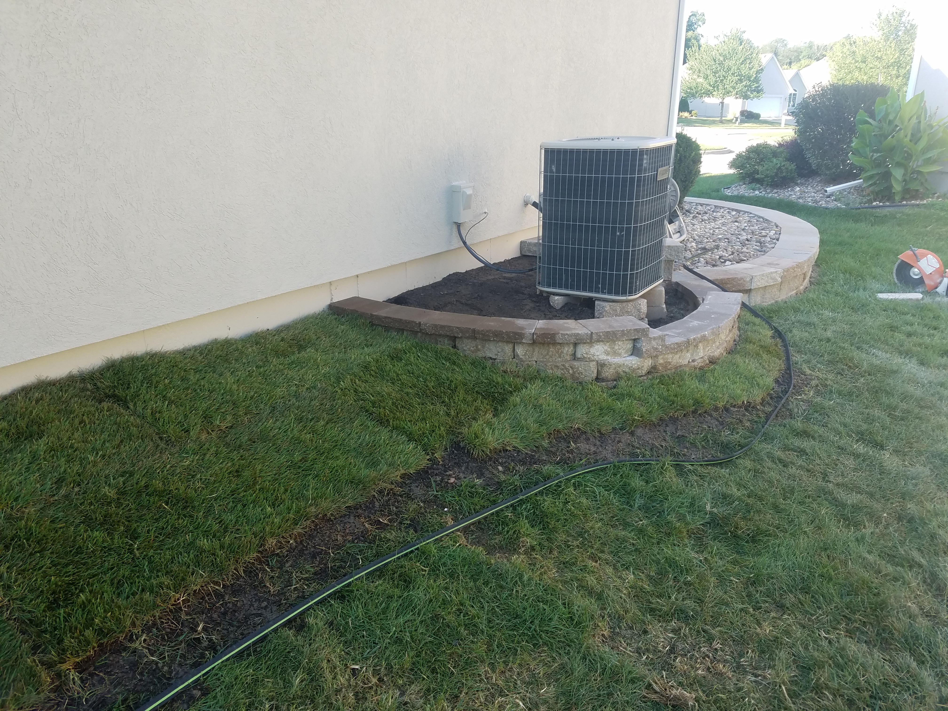 Retaining Wall And Landscaping Liberty Complete