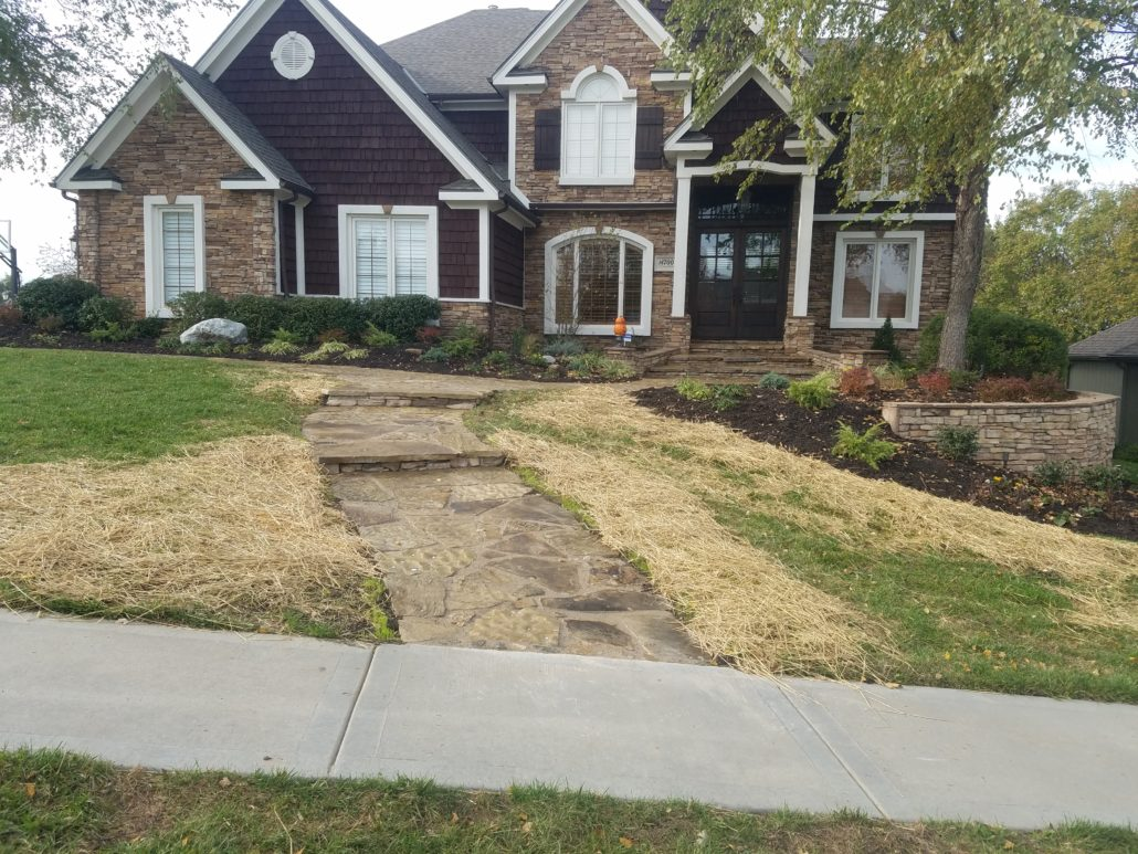Charmant Completed Flagstone Walkway Repair In Parkville. Kansas City Paver Installer