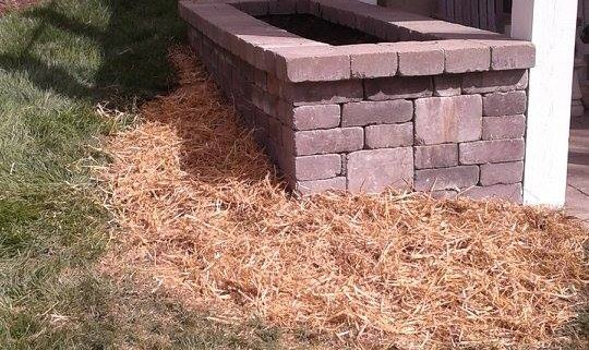 After Landscape Block Retaining Wall Repair Complete